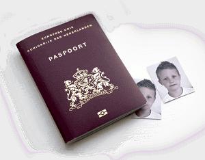 paspoort pasfoto